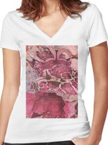 MAGIC ORGANS Women's Fitted V-Neck T-Shirt