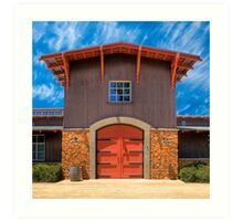 Shenandoah Valley Winery Art Print