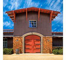 Shenandoah Valley Winery Photographic Print