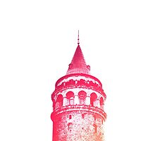 Galata Tower by Cagdas Kaya