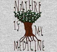 NATURE IS MY MEDICINE Women's Fitted Scoop T-Shirt
