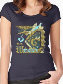 Monster Hunter - Zinogre Icon Women's Fitted Scoop T-Shirt