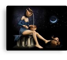 Surreal Woman Canvas Print