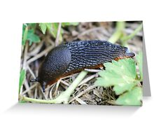 slug Greeting Card