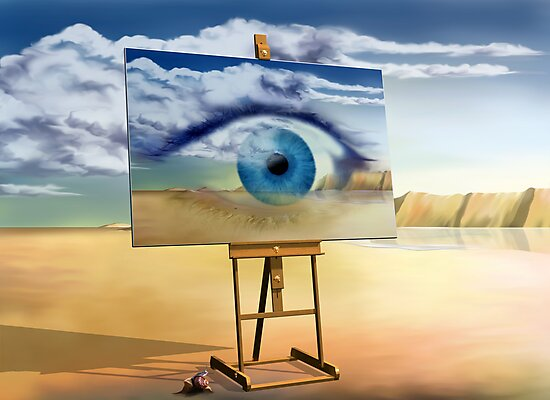 An eye with a view by Paul Fleet