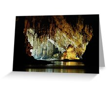 Lod Cave, Thailand Greeting Card
