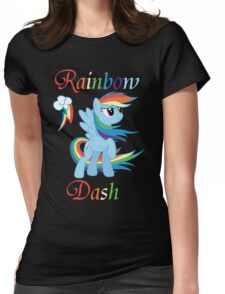 Rainbow Dash T-Shirt Womens Fitted T-Shirt