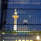 Kyoto Tower in Kyoto Station by openyourap