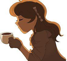 Coffee Girl by Kittybaka