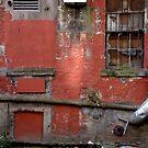 Backyard in Glasgow by Jean-Luc Rollier