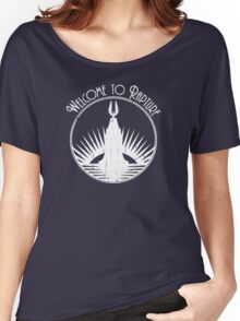 Bioshock Welcome To Rapture Women's Relaxed Fit T-Shirt