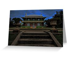 Monte Cristo, Haunted House Greeting Card