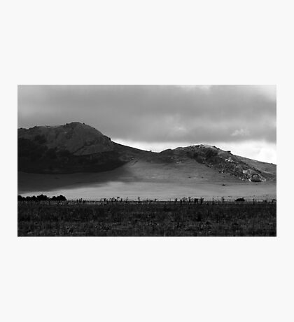 Shadows on the hills Photographic Print