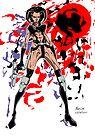 Aeon Flux - Final Render by Michael Lee