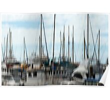 Tall masts #03 Poster