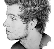 Luke Hemmings by drawpassionn