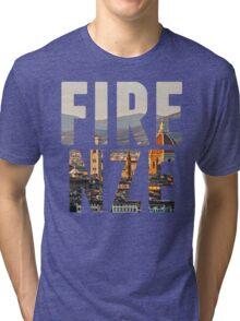 Firenze typography Tri-blend T-Shirt