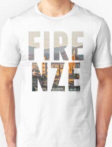 Firenze typography Unisex T-Shirt