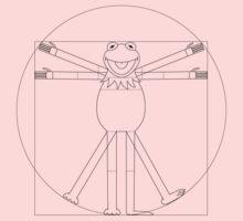 Vitruvian Frog Kids Tee