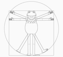 Vitruvian Frog One Piece - Long Sleeve