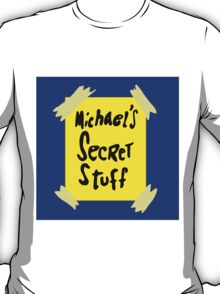 Michael's Secret Stuff - Space Jam Bottle  T-Shirt