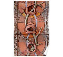 Sense Doors (detail of Lotus VII) Poster