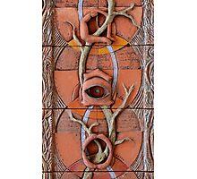 Sense Doors (detail of Lotus VII) Photographic Print