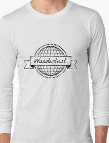 wanderlust postcard Long Sleeve T-Shirt