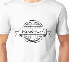 wanderlust postcard Unisex T-Shirt