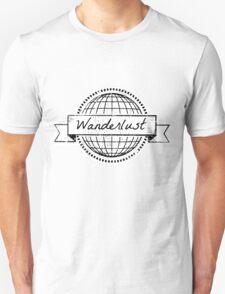 wanderlust postcard T-Shirt