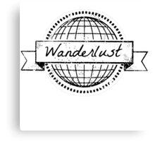 wanderlust postcard Canvas Print
