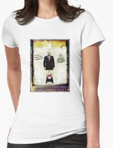 """""""I can make you famous""""- Max Clifford Womens Fitted T-Shirt"""