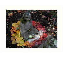 Buddha Mandala  Art Print