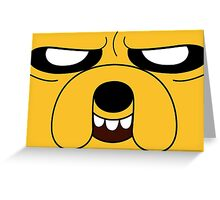 Adventure Time - Jake the Dog (Scheming) Greeting Card