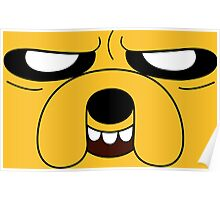 Adventure Time - Jake the Dog (Scheming) Poster