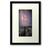 Pathway to the stars Framed Print