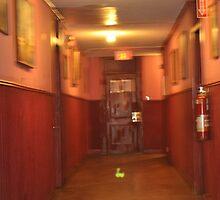 Green orb Ott Hotel, LIberty, Texas by ClintDMc