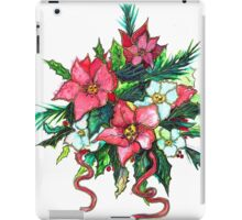 Christmas Flowers iPad Case/Skin