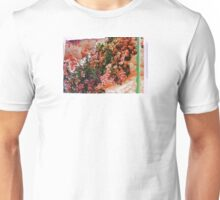 Holiday Pink and Green Unisex T-Shirt