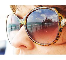REFLECTING ON BRIGHTON Photographic Print
