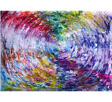 What does the Universe look like in Color? Photographic Print