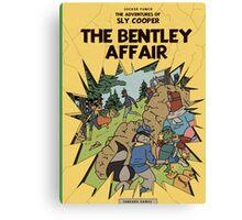 The Bentley Affair Canvas Print