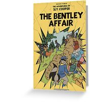 The Bentley Affair Greeting Card