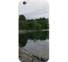 Summer Morning Tranquility - Lake Ontario in Toronto iPhone Case/Skin