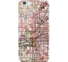 Indianapolis map iPhone Case/Skin