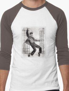 Elvis Presley by John Springfield Men's Baseball ¾ T-Shirt