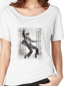 Elvis Presley by John Springfield Women's Relaxed Fit T-Shirt