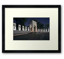 World War II Memorial Framed Print
