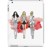 Fashion Trendy Girls iPad Case/Skin
