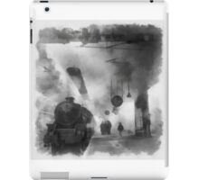 British Railways during WWII by John Spirngfield iPad Case/Skin